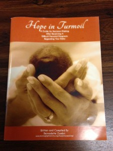 Hope in Turmoil, available at the Cambridge Right to Life office